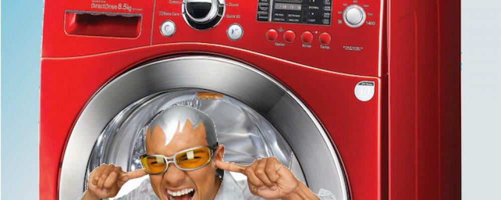 wasmachine maakt herrie 4 stappen witgoedbehoud