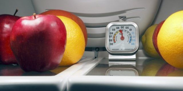 Temperatuur koelkast en vriezer