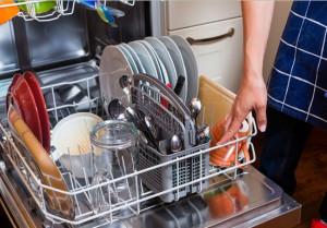 afwasmachine maakt lawaai