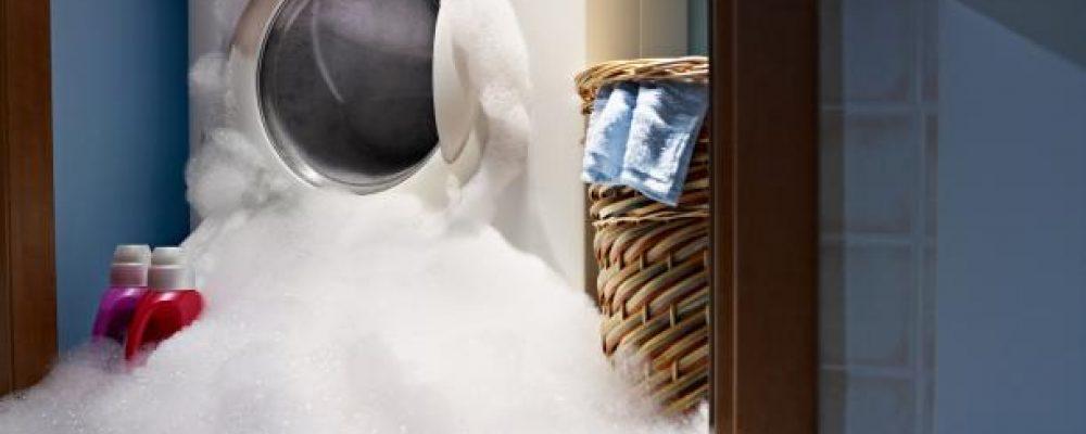 Wasmachine lekt